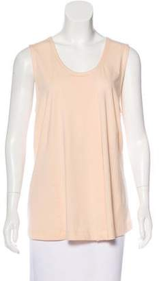 6397 Scoop Neck Draped Top w/ Tags
