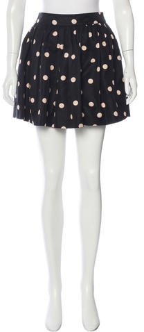 Kate Spade New York Polka Dot Mini Skirt