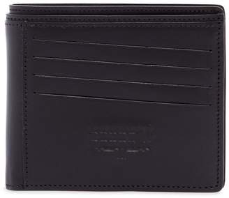 Maison Margiela Logo Embossed Leather Wallet