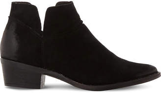 Steve Madden Phoenix cutout suede ankle boots