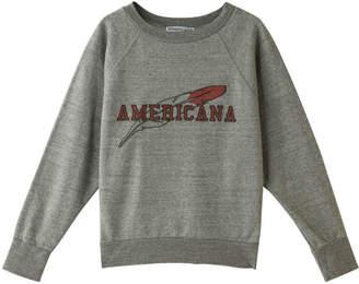 Americana (アメリカーナ) - アメリカーナ 60's ショート丈ラグランスウェット