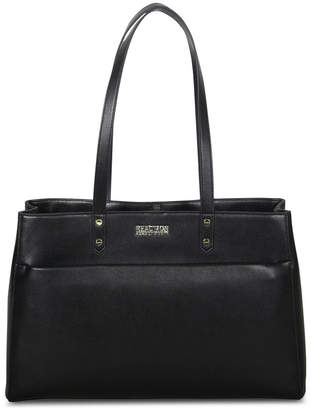 Kenneth Cole Reaction Faux Saffiano Computer Tote