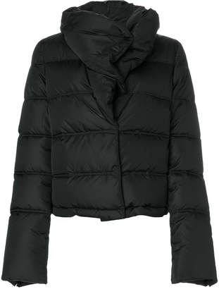 Givenchy high collar puffer jacket