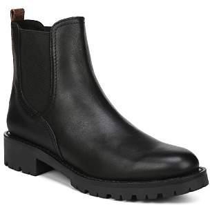 Sam Edelman Women's Jaclyn Round Toe Leather Booties