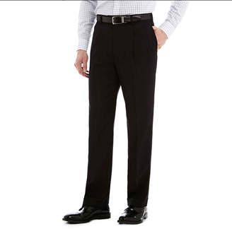 STAFFORD Stafford Travel Sharkskin Pleated Dress Pants - Classic