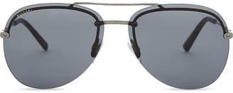 Bvlgari Bv5044 Diagono aviator-frame sunglasses
