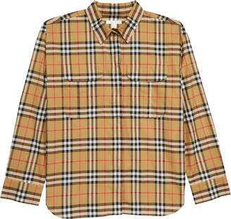 Burberry Sasha Check Shirt