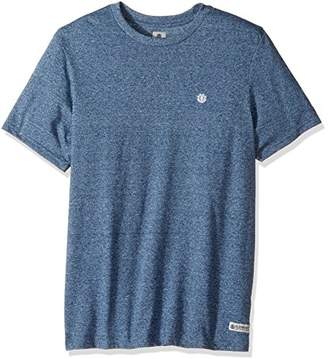 Element Men's Arthur Mock Twist Short Sleeve Crew Shirt