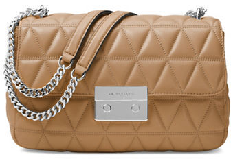 MICHAEL Michael Kors Michael Kors Sloan Large Chain Quilted Shoulder Bag