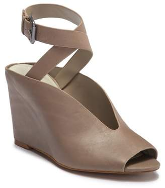 1 STATE 1.State Felidia Leather Ankle Strap Wedge Sandal
