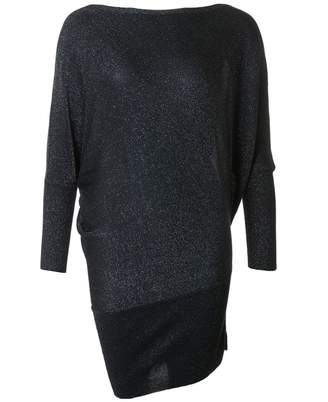 Saint Tropez Knitted Glitter Tunic Top