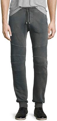 Belstaff Ashdown 2.0 Moto Jogger Pants, Green $295 thestylecure.com