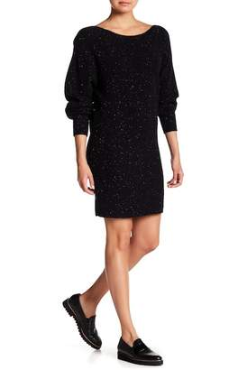 Theory Ribbed Cashmere Sweater Dress