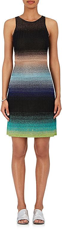 Missoni Women's Metallic Striped Knit Dress