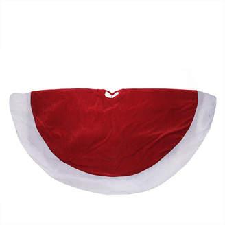 Asstd National Brand 60 Traditional Velveteen Christmas Tree Skirt