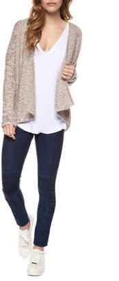 Dex Cream/Pink Open Cardi Sweater