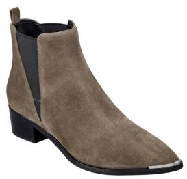 Marc Fisher LTD Yale Suede Boots $179 thestylecure.com