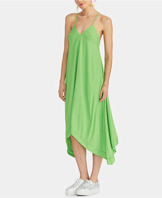 Rachel Roy Maddelena Sleeveless Handkerchief-Hem Dress
