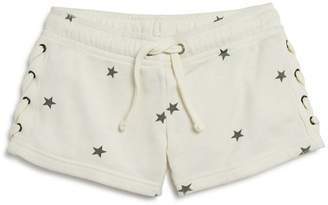 Vintage Havana Girls' Star-Print Lace-Up Shorts