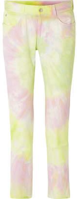 Stella McCartney Tie-dyed Slim Boyfriend Jeans - Yellow