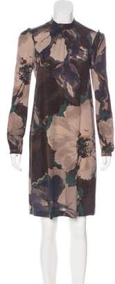Etro Wool Printed Dress