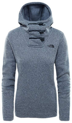 The North Face Crescent Hooded Pullover, Blue Wing Teal Heather