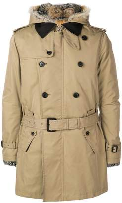 Sealup short trench coat
