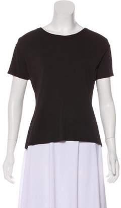 Salvatore Ferragamo Scoop Neck Short Sleeve T-Shirt