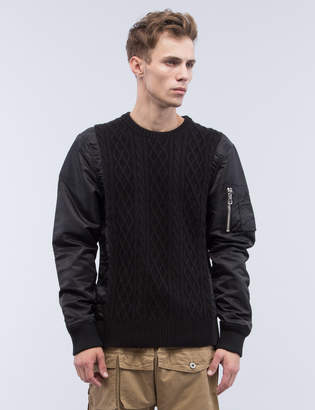 Mostly Heard Rarely Seen MA1 Sweater