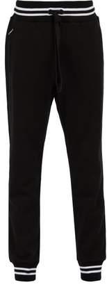 Dolce & Gabbana Cotton Track Pants - Mens - Black