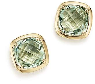 Bloomingdale's Prasiolite Square Stud Earrings in 14K Yellow Gold - 100% Exclusive