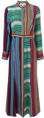 Diane von Furstenberg striped long dress