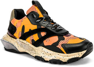 Valentino Low Top Sneaker in Multi & Orange | FWRD