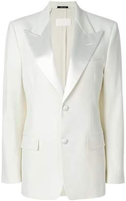 Maison Margiela structured shoulder blazer