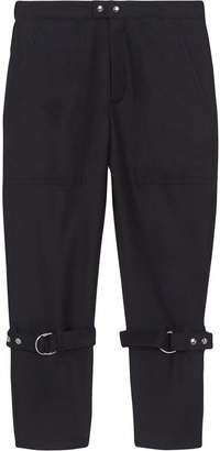Burberry Wool Mohair Punk Trousers