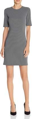 Theory Rijik Checkered Claymont Dress $295 thestylecure.com