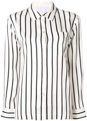 17a457575e2b0 Striped Silk Shirt - ShopStyle