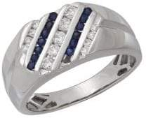 Lord & Taylor 14K White Gold Ring