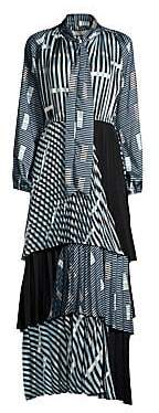 Beatrice. B Women's Colorblock Graphic Print Maxi Dress
