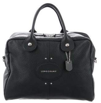 Longchamp Convertible Leather Handle Bag