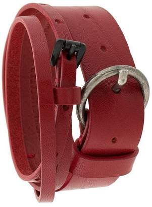 Ann Demeulemeester wrap-around belt bracelet