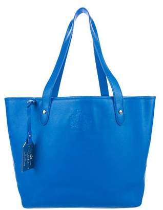 Lauren Ralph Lauren Textured Leather Tote