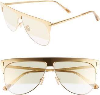 224fe5335ff0e Tom Ford Winter 62mm Rectangular Sunglasses