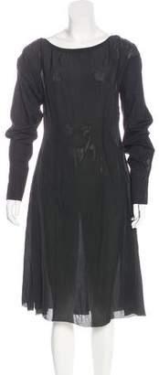 Yang Li Long Sleeve Midi Dress w/ Tags