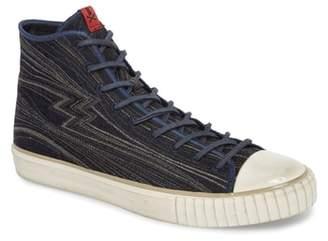 John Varvatos Collection Mid Top Engineered Sneaker