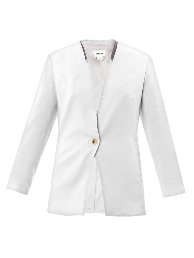 Helmut Lang Ark suiting one button blazer