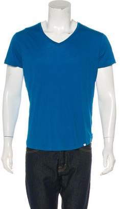 Orlebar Brown Solid Woven T-shirt