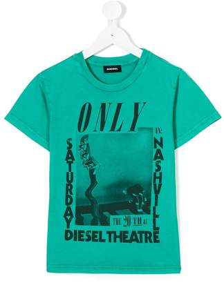 Diesel graphic print T-shirt