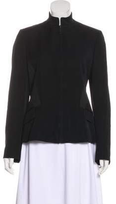 Calvin Klein Collection Wool Zip-Up Jacket