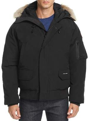 Canada Goose Chilliwack Fur-Trimmed Down Bomber Jacket